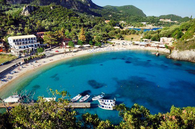 Sanibel Island All Inclusive Packages: Paleokastritsa Beach Bay, Mediterranean Area, Ionian Sea