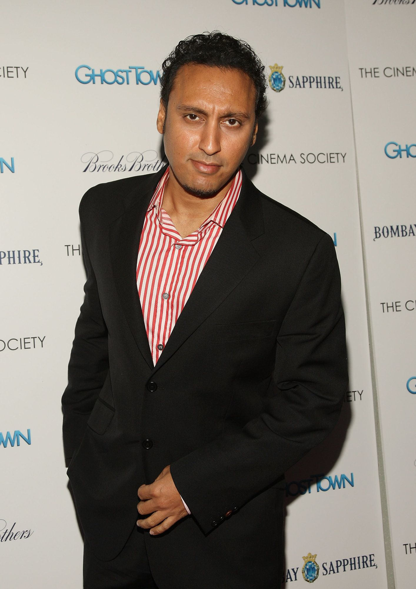 NEW YORK - SEPTEMBER 15:  Actor Aasif Mandvi attends a special screening hosted by The Cinema Society and Brooks Brothers with Bombay Sapphire at The IFC Center on September 15, 2008 in New York City.  (Photo by Stephen Lovekin/Getty Images)
