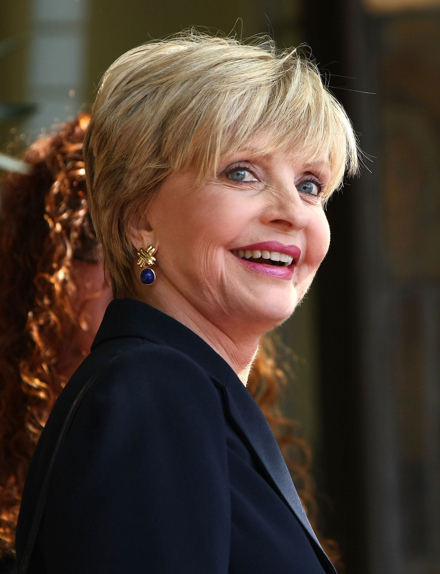 HOLLYWOOD - MARCH 07:  Actress Florence Henderson attends a ceremony honoring producer Sherwood Schwartz with a star at the Hollywood Walk of Fame on March 7, 2008 in Hollywood, California.  (Photo by Alberto E. Rodriguez/Getty Images)