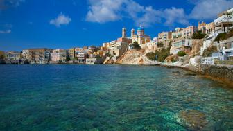Ermoupoli (Khora), Syros Island, Cyclades, Greek Islands, Greece, Europe