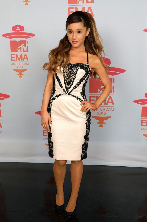 Atthe 2013 MTV's European Music Awards at the Ziggo Dome in Amsterdam.