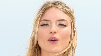 MIAMI, FL - FEBRUARY 26:  Victoria Secret Supermodel Martha Hunt poses for photo op as they Celebrate The Victoria's Secret Swim Special on February 26, 2015 in Miami, Florida.  (Photo by John Parra/Getty Images for Victoria's Secret)