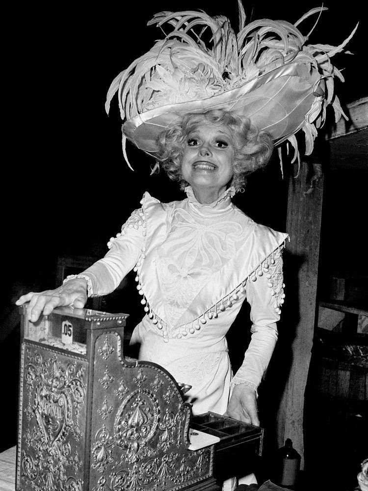 The award-winning star of stage and screen Carol Channing is a genuine American icon, and was at the height of her 'Hello, Do