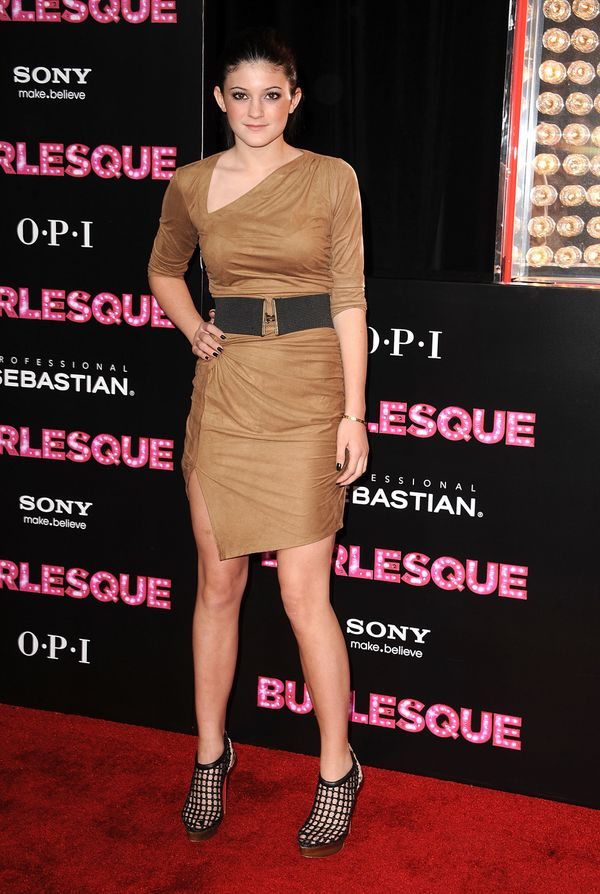 "At the Los Angeles ""Burlesque"" premiere on Nov. 15, 2010 in Hollywood, CA."