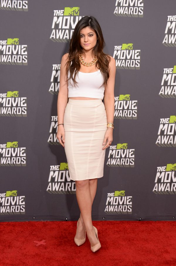 At the 2013 MTV Movie Awards at Sony Pictures Studios on April 14, 2013 in Culver City, CA.