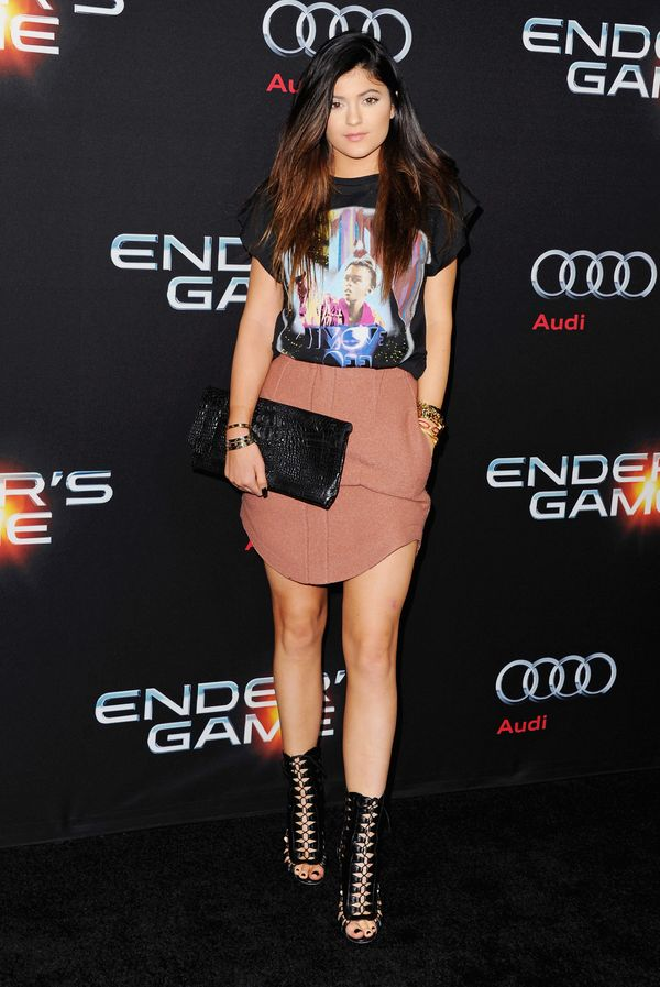 """At the Los Angeles premiere of """"Ender's Game"""" on Oct. 28, 2013 in Hollywood, CA."""
