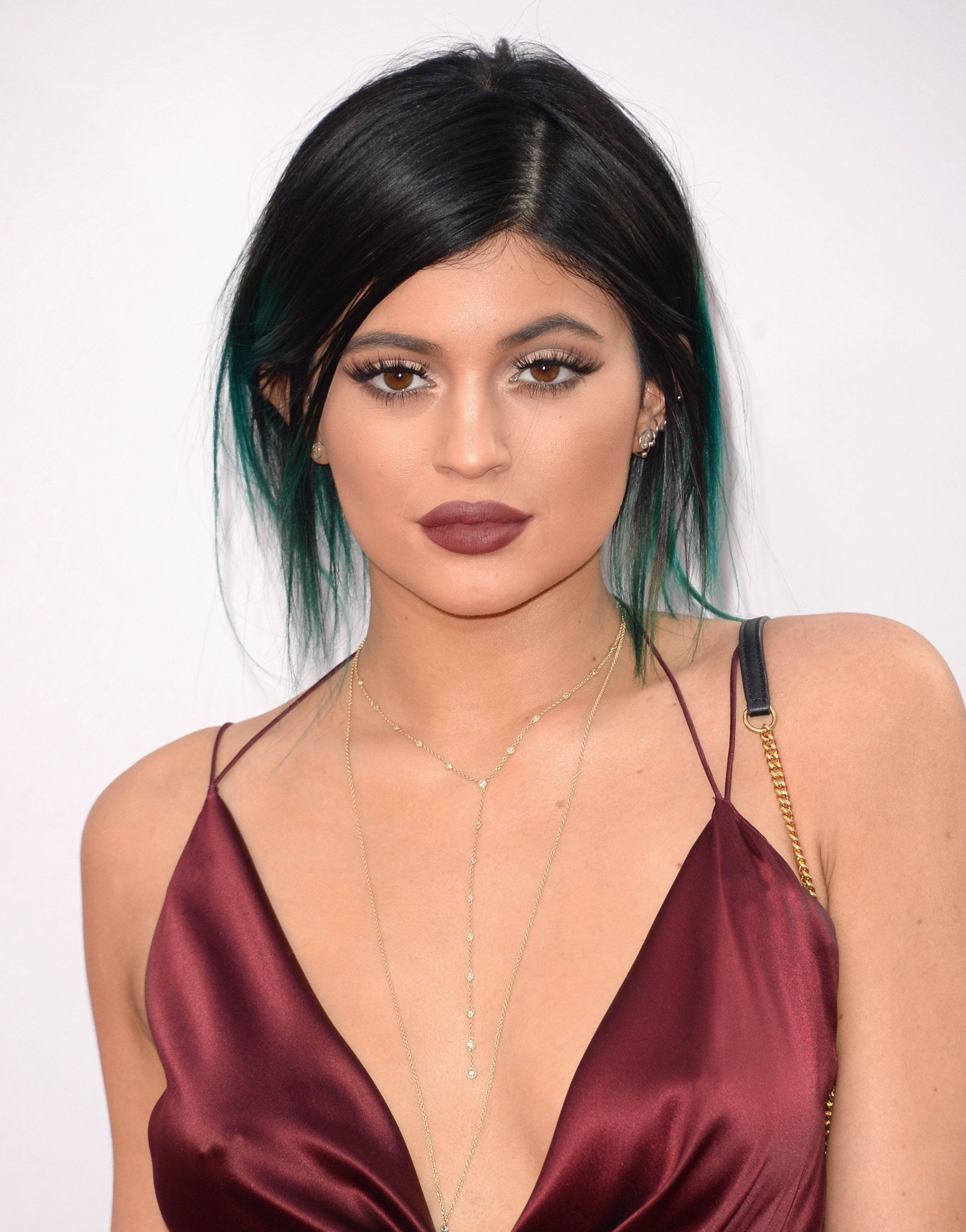 LOS ANGELES, CA - NOVEMBER 23:  Model Kylie Jenner attends the 2014 American Music Awards at Nokia Theatre L.A. Live on November 23, 2014 in Los Angeles, California.  (Photo by Jason Merritt/Getty Images)