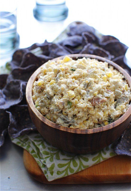 "<strong>Get the <a href=""http://www.tablespoon.com/recipes/spicy-corn-and-jalapeno-dip/cc39a0d4-22a6-4e38-8b88-04b15250b111"""