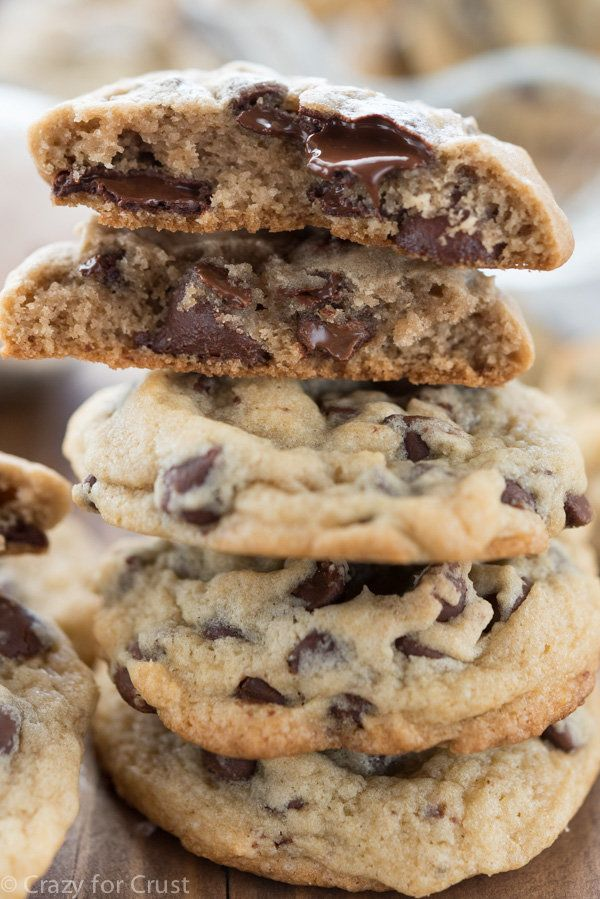 The Best Chocolate Chip Cookie Recipe Has Ice Cream IN It
