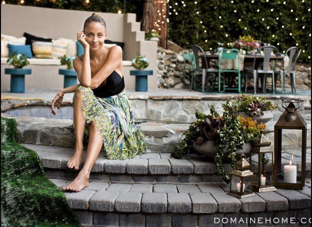 "It's no surprise that she wanted her <a href=""http://www.huffingtonpost.com/2013/08/27/nicole-richie-home-backyard_n_3818007."