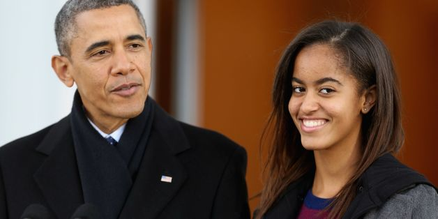First Daughter Malia Obama Spotted On The Set Of 'Girls'