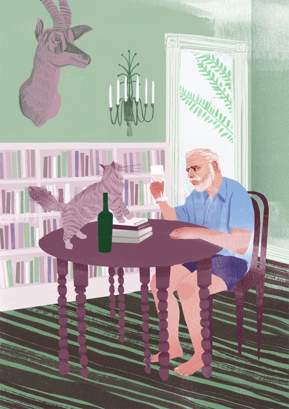 <strong>Ernest Hemingway</strong>