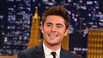 NEW YORK, NY - MAY 07:  Zac Efron visits 'The Tonight Show Starring Jimmy Fallon' at Rockefeller Center on May 7, 2014 in New York City.  (Photo by Theo Wargo/NBC/Getty Images for 'The Tonight Show Starring Jimmy Fallon')
