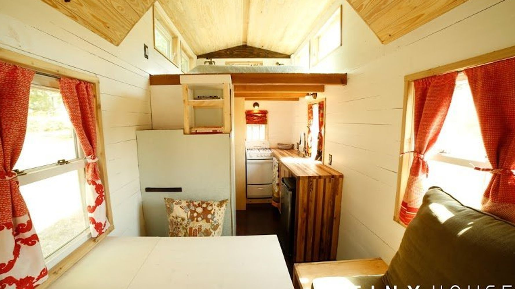 130-Square-Foot Tiny House Proves Size Does NOT Matter When ... on tiny home house plans, small loft house plans, house designs with floor plans, two bedroom loft floor plans, tumbleweed house plans, new york loft floor plans, micro house floor plans,