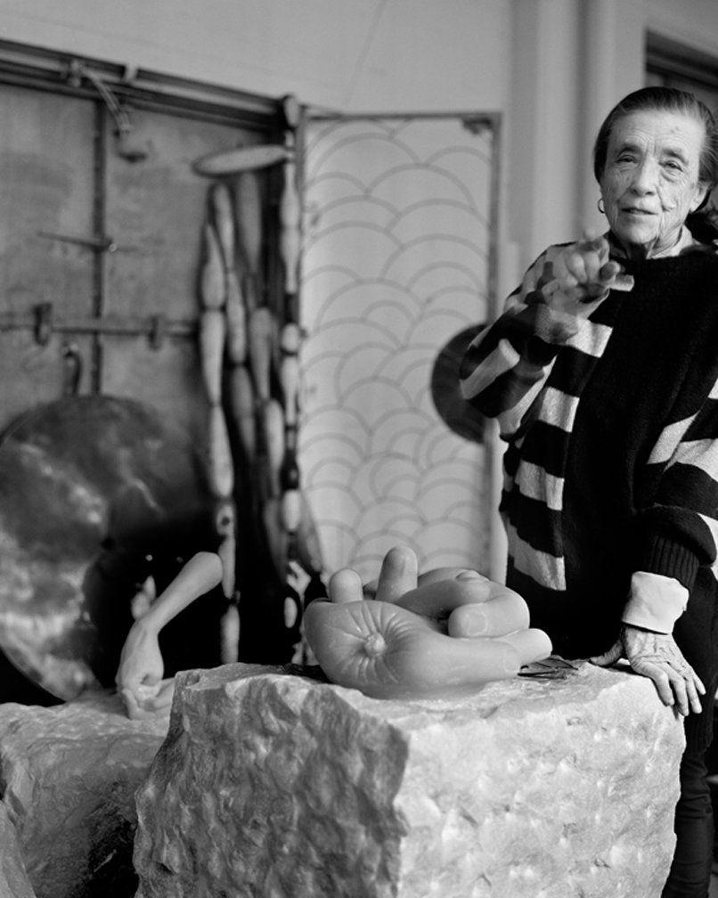 Fotografada em 28 de fevereiro de 1992. Escultura, instalação e pintura, França.  © Fundação Easton/Licenciado por VAGA, NY.