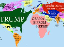 How Donald Trump Sees The Globe