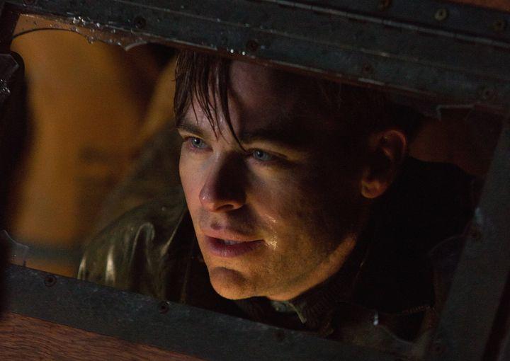 "Chris Pine stars as Captain Bernie Webber in Disney's ""The Finest Hours,"" the action-thriller based on the true story of&nbsp"