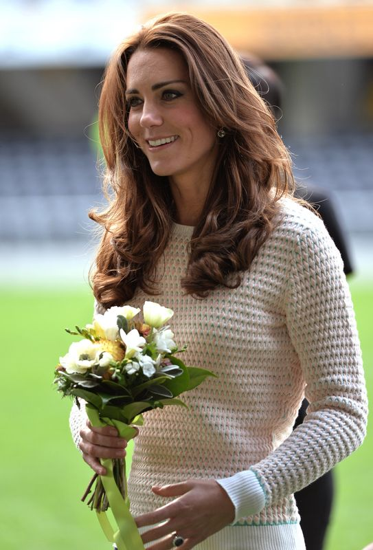 catherine duchess of cambridge pregnant