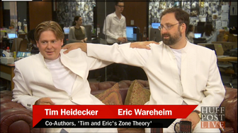 Tim and Eric appear on HuffPost Live.
