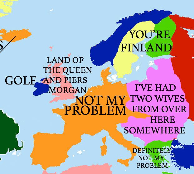 my favorite part is europe africa and the middle east sometimes the truth hits hardest