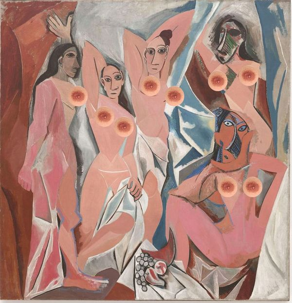 """Pablo Picasso's """"Les Demoiselles d'Avignon"""""""