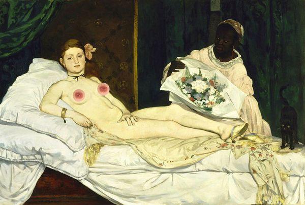 "Edouard Manet's ""Olympia"""