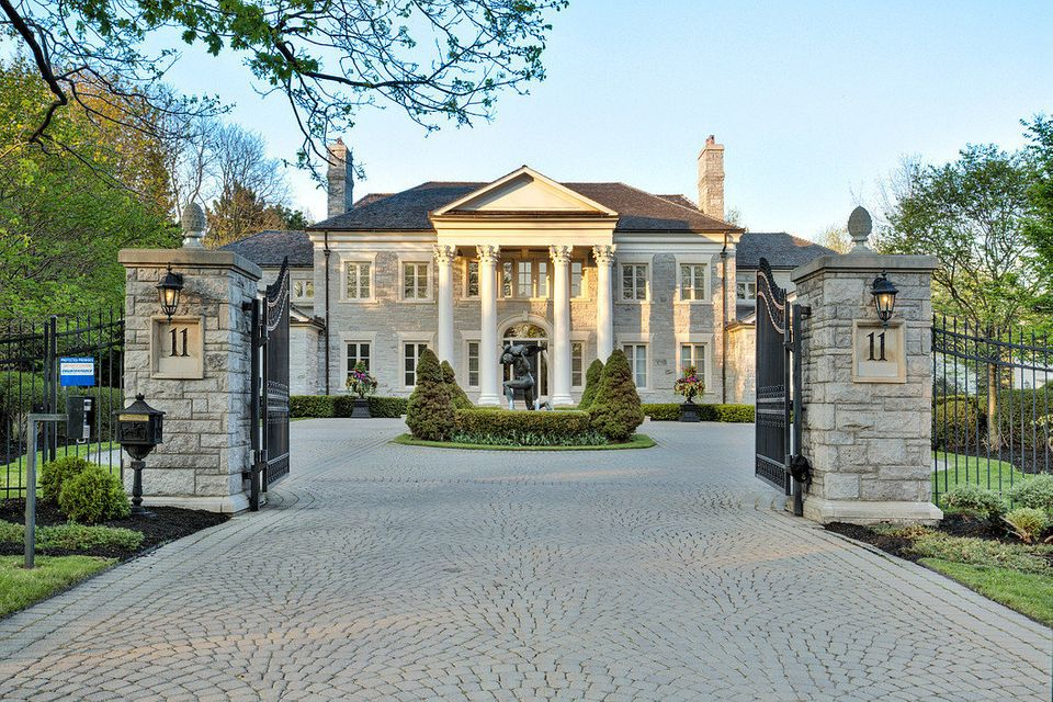 "The 20,000-square-foot Toronto mansion that played the part of Regina's house in the cult 2004 movie ""Mean Girls"" is up for s"