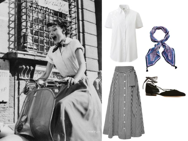 How You Can Look Like Audrey Hepburn In Roman Holiday