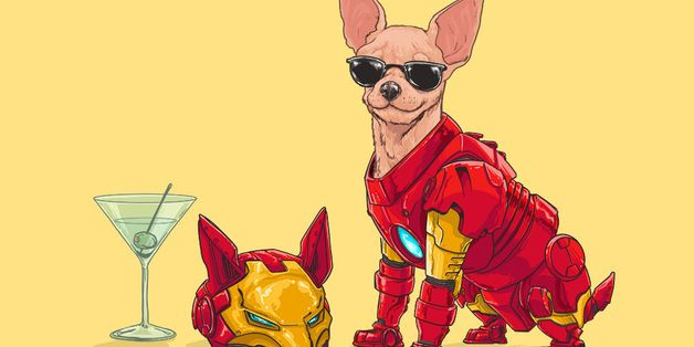 Marvel's Greatest Superheroes Recast As Dogs