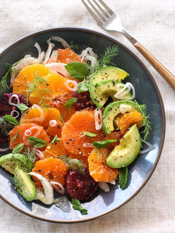 "<strong>Get the <a href=""http://www.foodiecrush.com/2014/03/citrus-fennel-and-avocado-salad/"" target=""_blank"">Citrus Fennel a"