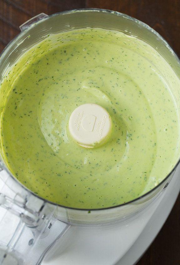 "<strong>Get the <a href=""http://www.cookingclassy.com/2015/06/avocado-greek-yogurt-ranch-dressing/"" target=""_blank"">Avocado G"