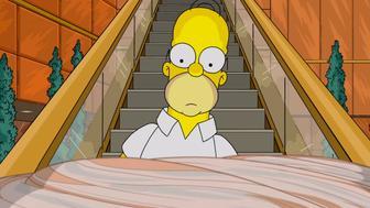 Homer Simpson Takes A Journey Through Donald Trump's Hair