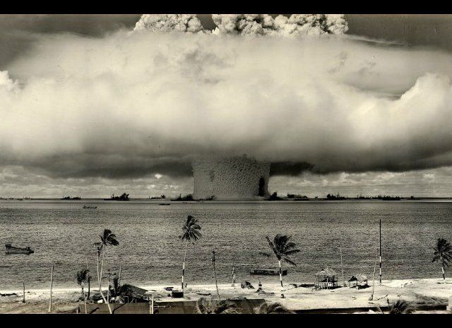Though a Unesco World Heritage Site, and often visited Bikini Atoll is a highly dangerous place. It was the site of serious n