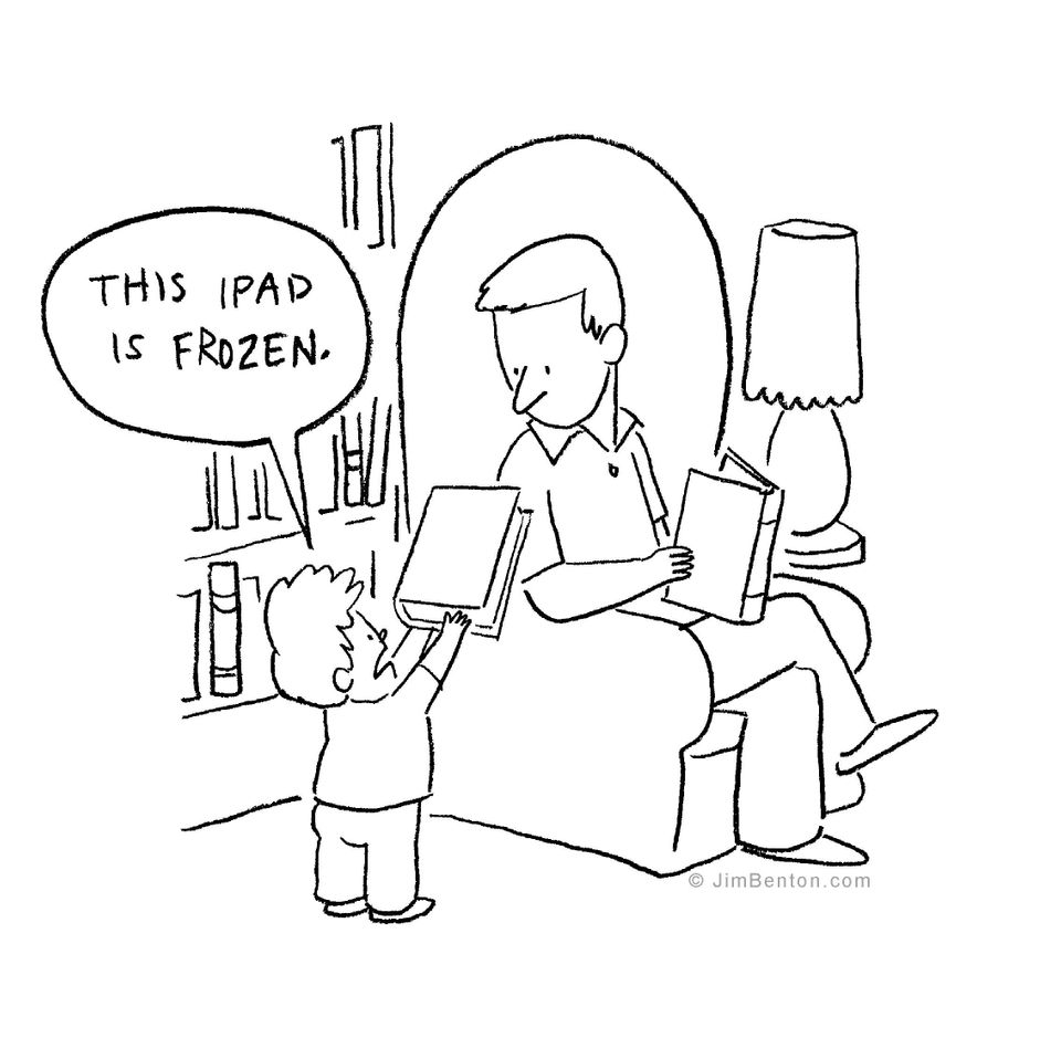 11 Comics About Kids Plugged In Lives To Make You Laugh Or Cry Huffpost Life
