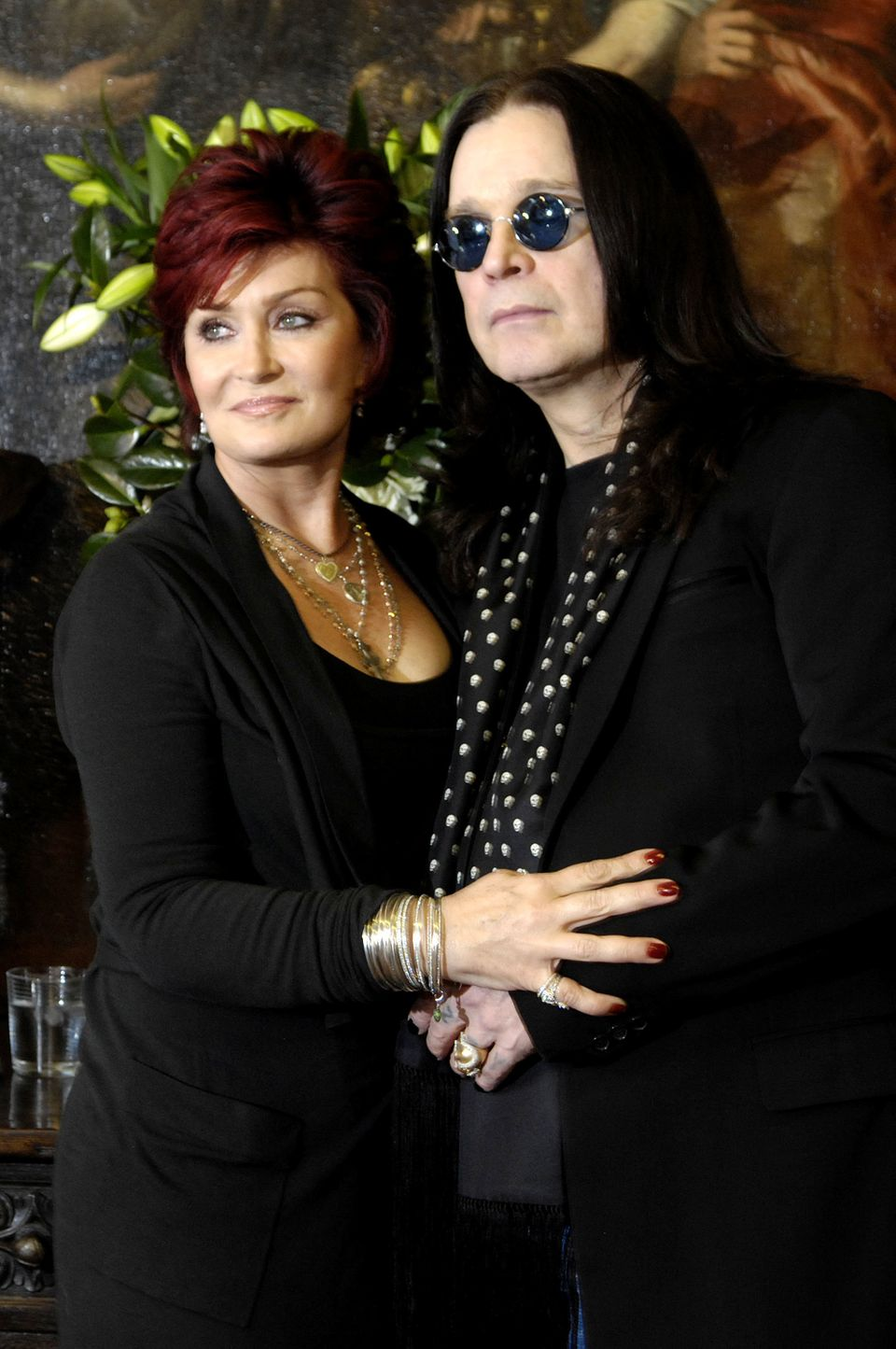 "Sharon and Ozzy Osbourne, aged 60 and 64, became grandparents when their son <a href=""https://www.huffpost.com/entry/jack-osb"