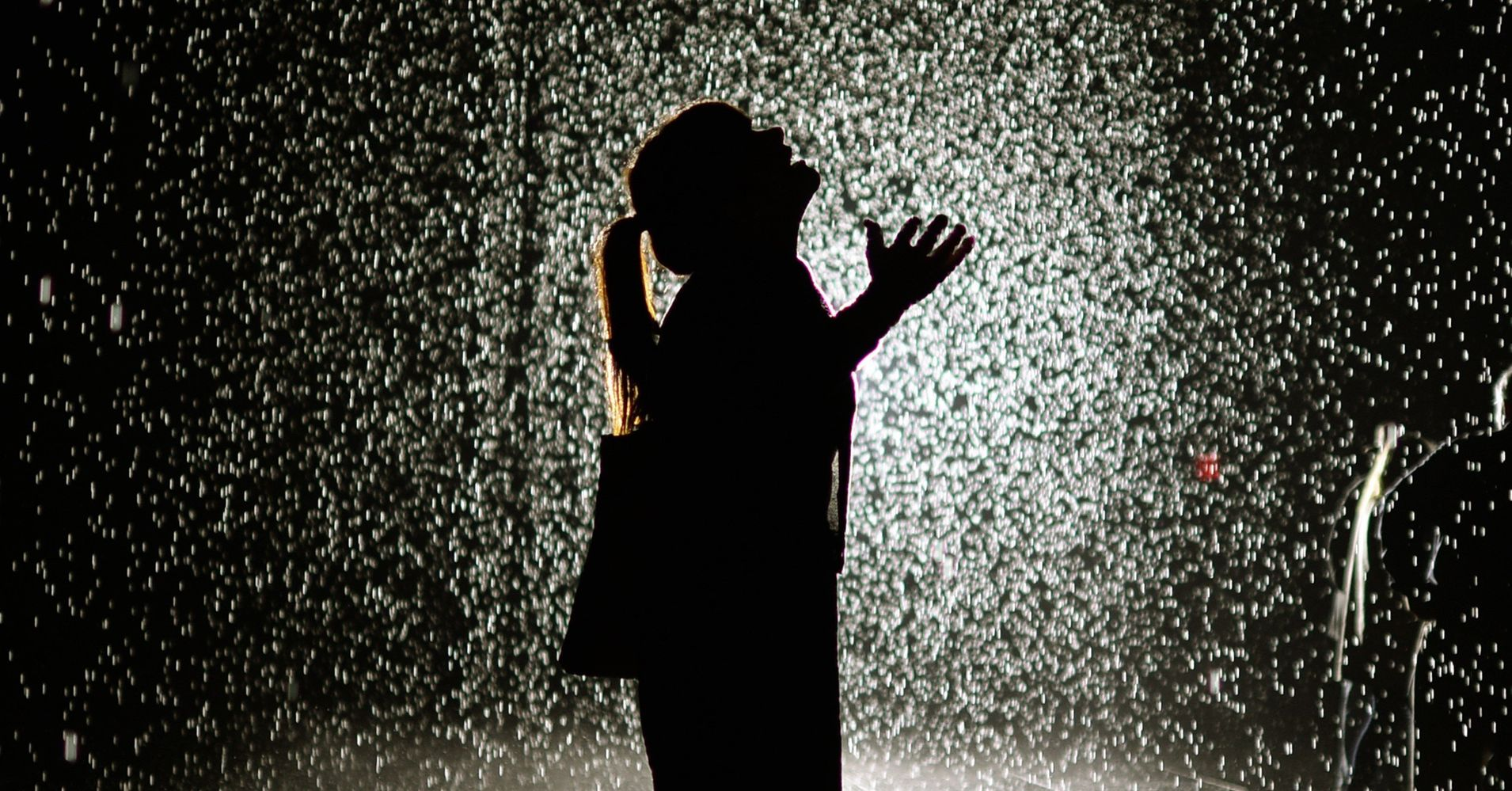 The Rain Room Is Coming To Los Angeles Not To Be