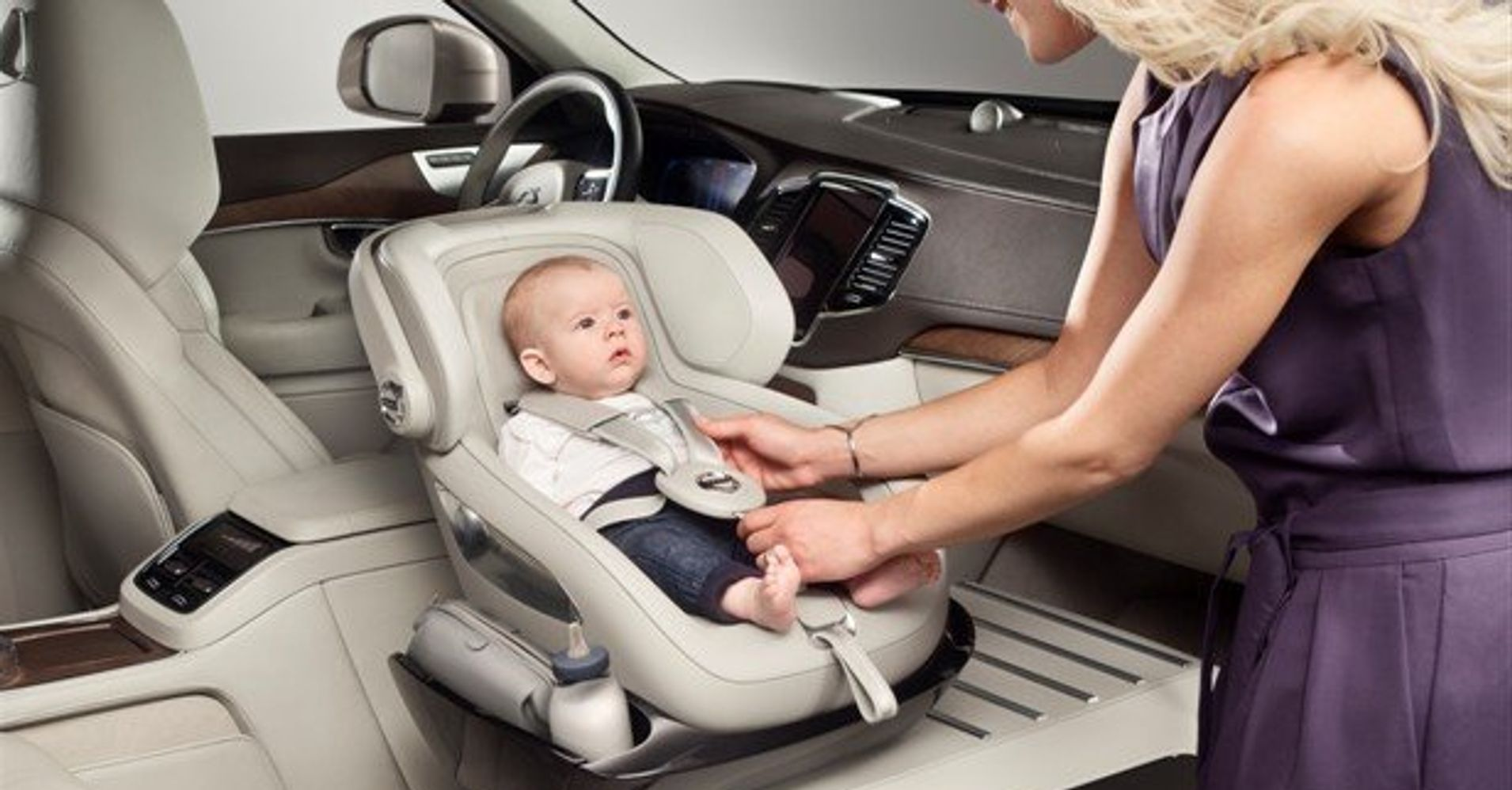 Volvo Introduces Controversial New Child Car Seat Concept | HuffPost