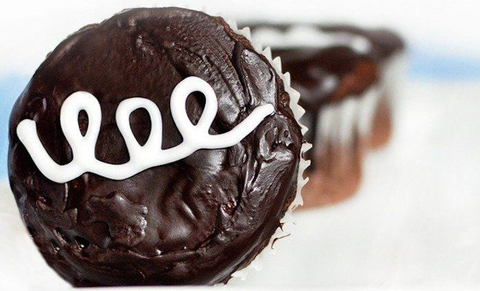 "<strong>Get the <a href=""http://chocolatecoveredkatie.com/2011/09/20/cream-filled-chocolate-cupcakes/"" target=""_blank"">Vegan"