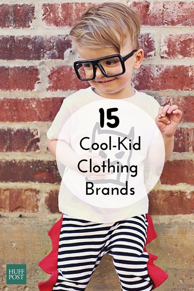 15 Super Cool Kids Clothing Brands That You And Your Little One Will