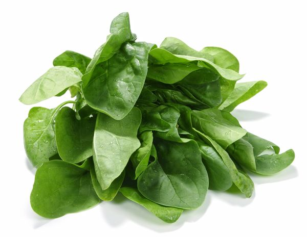 """Spinach is rich in the antioxidant lutein, which is thought to help protect against cognitive decline, <a href=""""http://www.nu"""