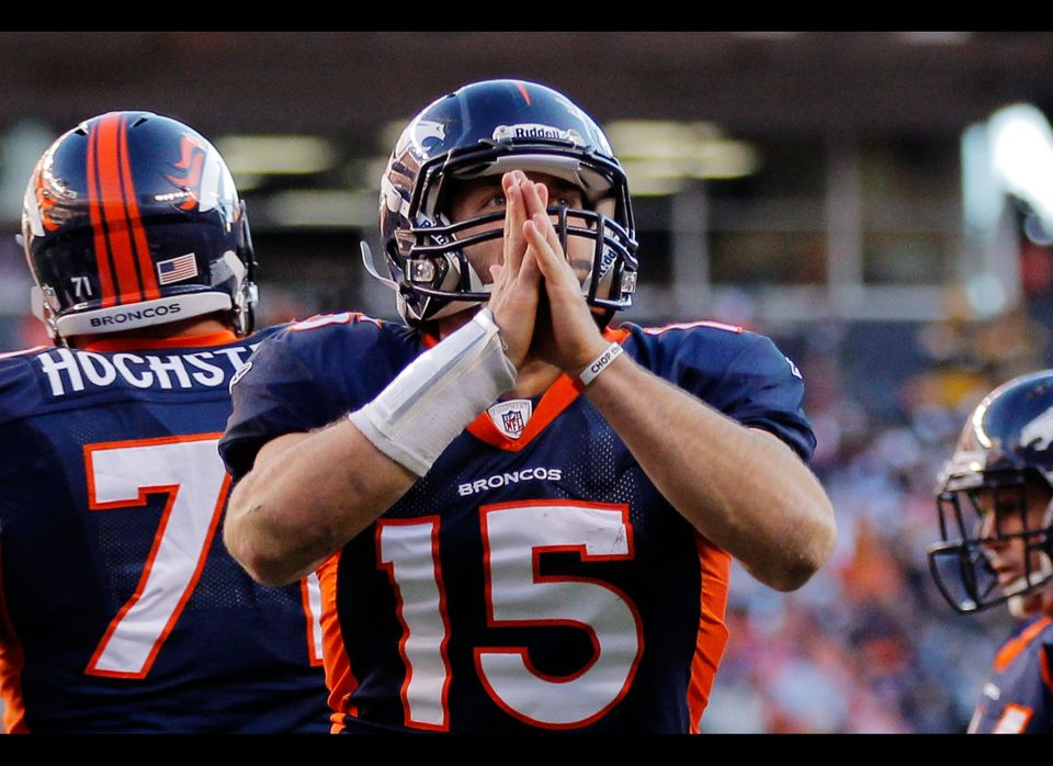 "Love him or hate him, Tim Tebow's <a href=""http://blog.chron.com/theemmausroad/2012/01/is-tim-tebow-the-new-face-of-christian"