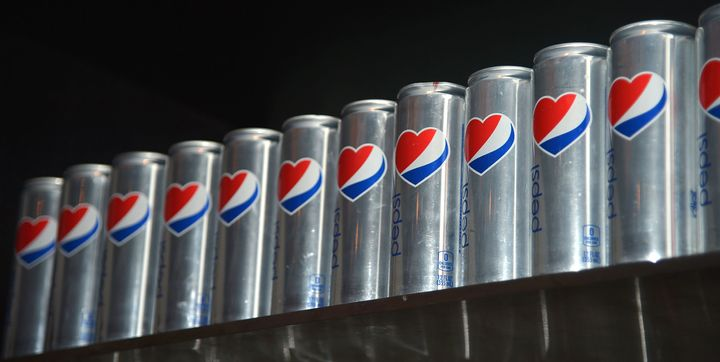<p>Starting in August, cans of Diet Pepsi like these won't contain aspartame -- except a few sold online.</p>