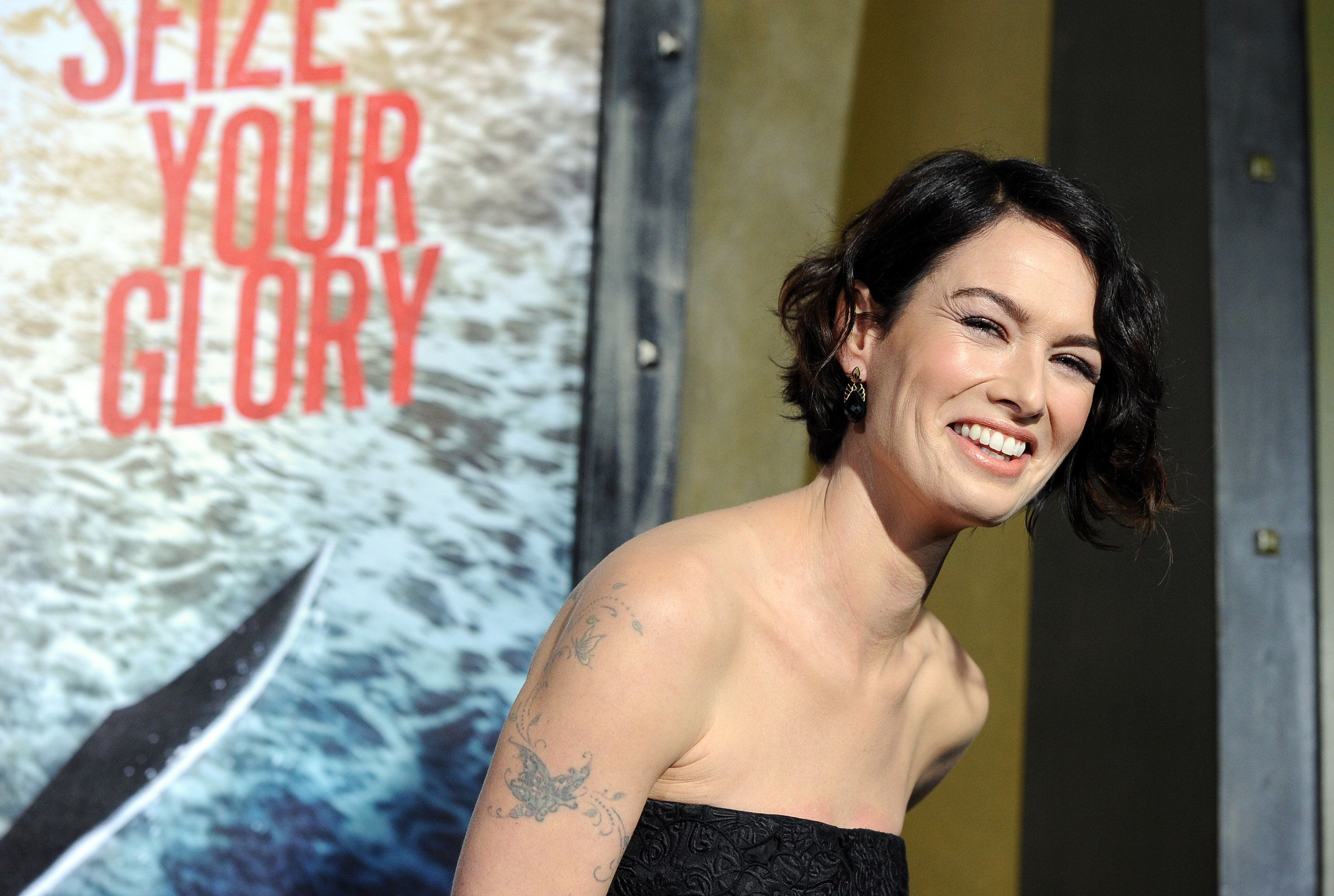 HOLLYWOOD, CA - MARCH 04:  Actress Lena Headey attends the premiere of Warner Bros. Pictures and Legendary Pictures' '300: Rise Of An Empire' at TCL Chinese Theatre on March 4, 2014 in Hollywood, California.  (Photo by Kevin Winter/Getty Images)