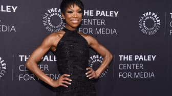 NEW YORK, NY - MAY 13:  Entertainer Brandy Norwood attends A Tribute To African-American Achievements In Television hosted by The Paley Center For Media at Cipriani Wall Street on May 13, 2015 in New York City.  (Photo by Mike Coppola/Getty Images)