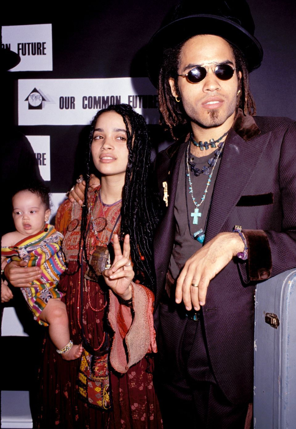 In 1988, Lenny Kravitz and Lisa Bonet welcomed a daughter named Zoe.   After the couple divorced in 1993, Bonet went on to ha