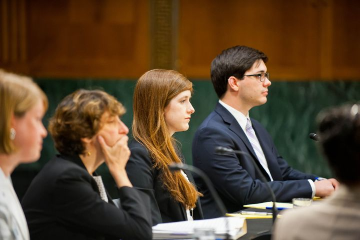 John Kelly, far right, participates in a June 2014 roundtable hosted by U.S. Sen. Claire McCaskill (D-Mo.), discussing campus