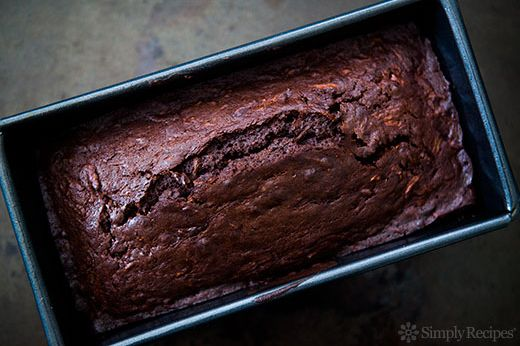 "<strong>Get the<a href=""http://www.simplyrecipes.com/recipes/chocolate_zucchini_bread/"" target=""_blank""> Chocolate Zucchini B"