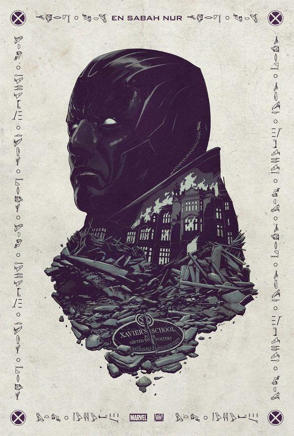 """X-Men: Apocalypse"" Teaser Poster."