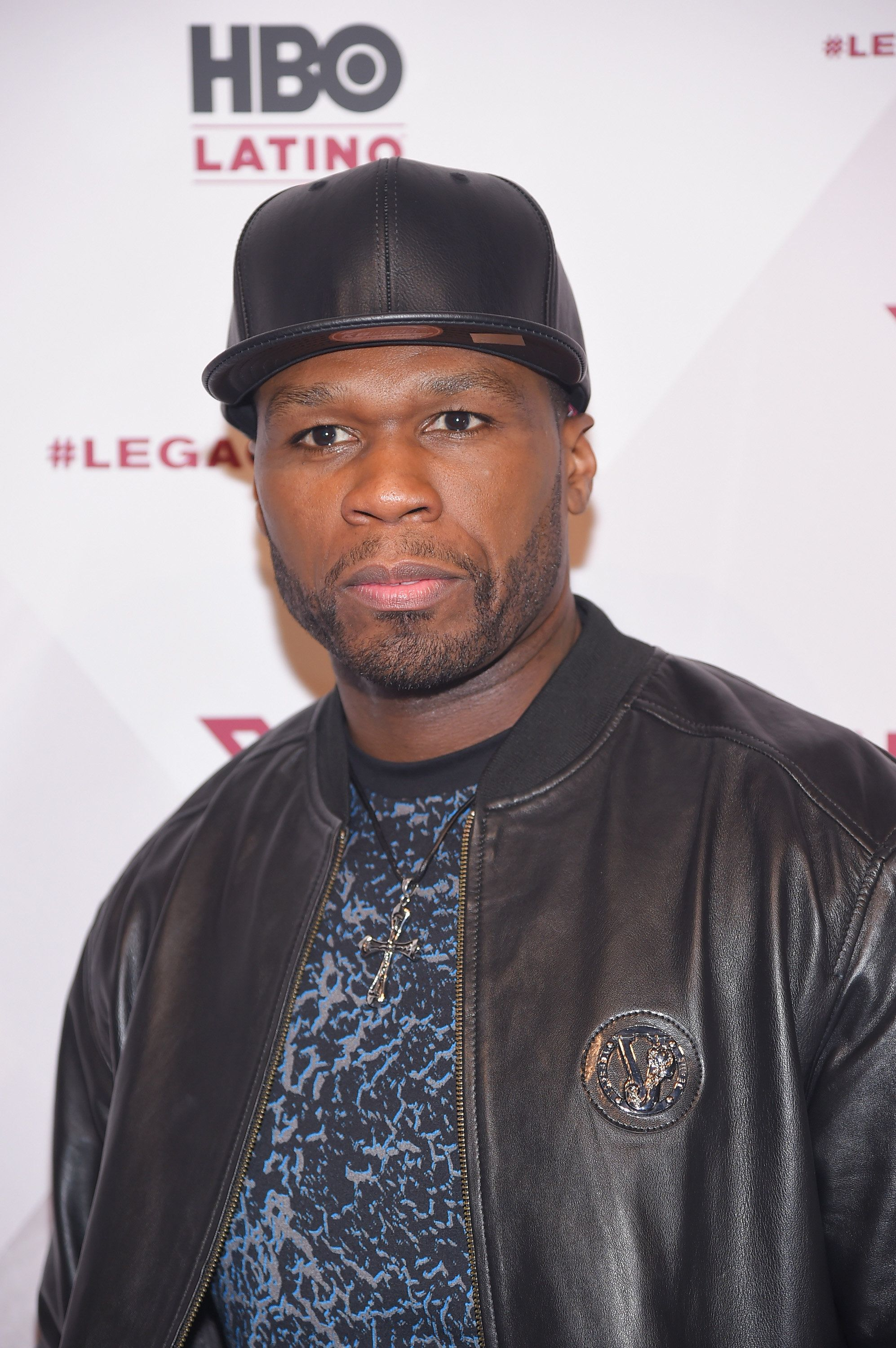 NEW YORK, NY - APRIL 07:  Rapper 50 Cent attends the HBO Latino red carpet premiere of the 'Camino Al Concierto and Legacy: De Lider a Leyenda' at Center 548 on April 7, 2015 in New York City.  (Photo by Michael Loccisano/Getty Images for HBO Latino)