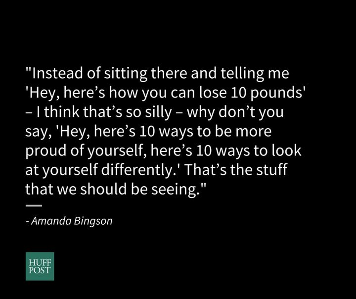 Amanda Bingson, 25-year-old USA track and field hammer thrower, talks about body image and being an athlete.